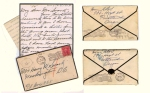 Letters from Rosa Sutton to Harry Swartz U.S.M.C.