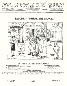 Salome-Where She Danced