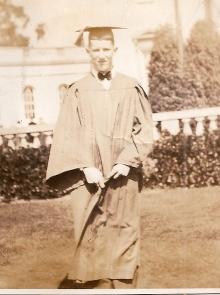 Dick Wick Hall, Jr. R.U.H.S. Graduation June 13, 1930