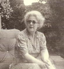 Rose Sutton Parker Hicks in Virginia Circa 1939.